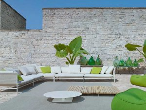 Paola Lenti Canvas Outdoor Lounge