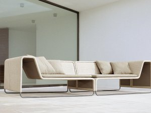 Paola Lenti Island Outdoor Lounge