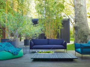Paola Lenti Kaba Outdoor Lounge