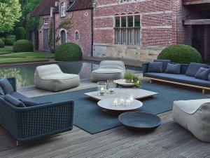 Paola Lenti Sabi Outdoor Lounge