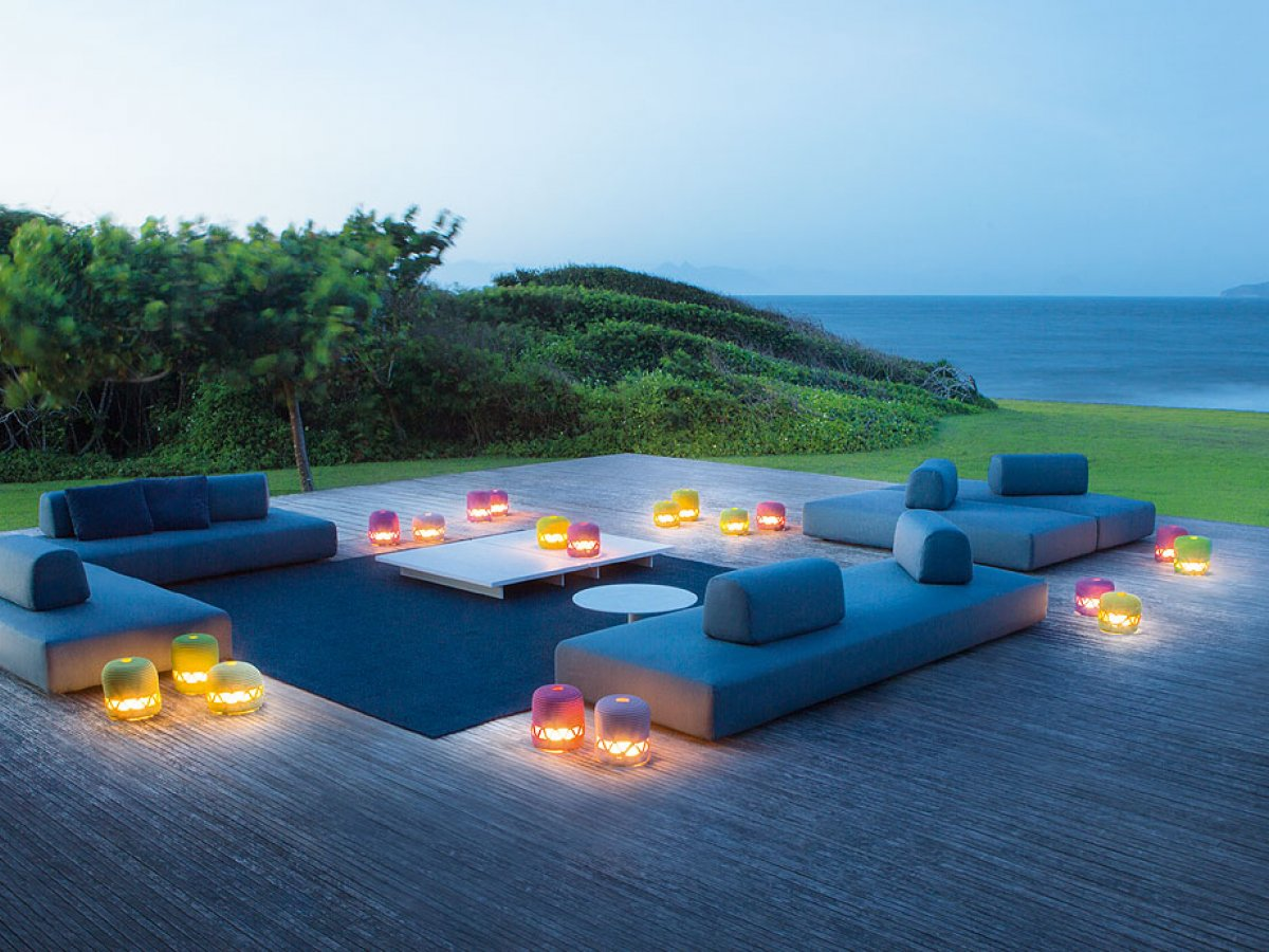 outdoor lounge von paola lenti fulda sebastian freund. Black Bedroom Furniture Sets. Home Design Ideas