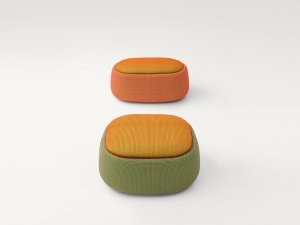 Paola Lenti Hocker Smile