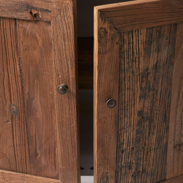 Riviera Maison Driftwood Cabinet with winerack Double